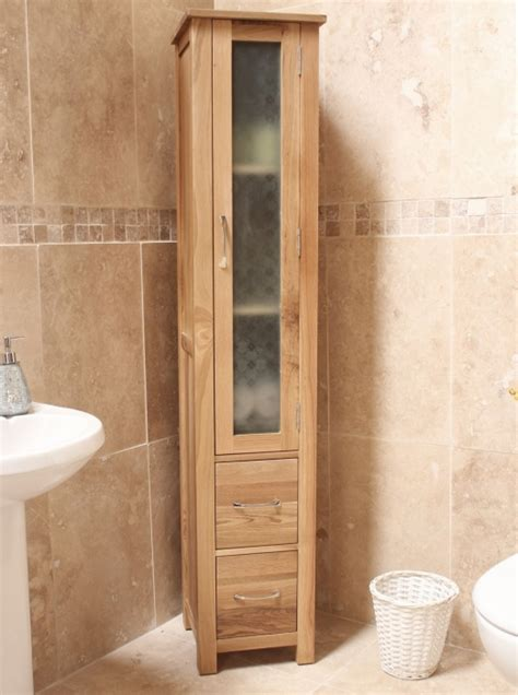 Solid Oak Bathroom Furniture Mobel Solid Oak Furniture Bathroom Cabinet Storage Unit Ebay