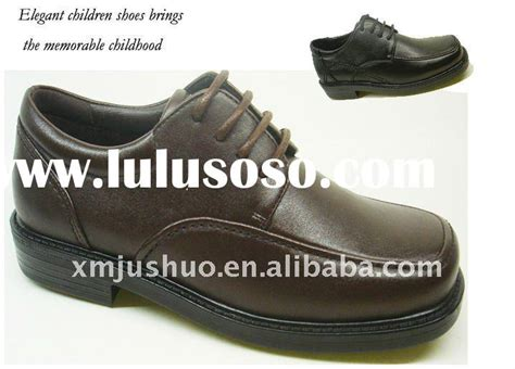 wholesale children leather school shoes for sale price