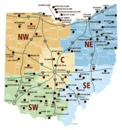 Ohio State Parks Map locator map for all ohio state parks bucket list pinterest