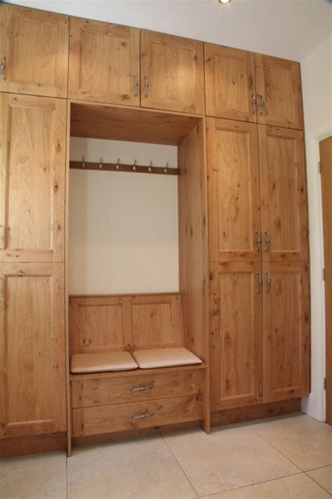 bespoke shoe storage oak plant on kitchen bespoke kitchens