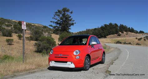 fiat 500 electric review review 2013 fiat 500e electric the about cars
