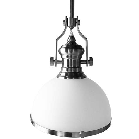 home depot led pendant lights vonn lighting dorado 1 light 12 in satin nickel led