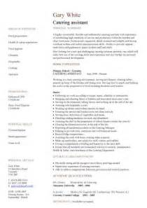 Free catering cv template samples catering jobs event catering