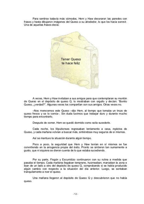 libro de quin te escondes quien se ha llevado mi queso completo