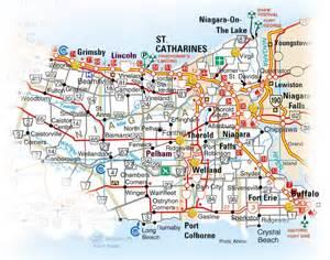 map of the region niagara world wine country