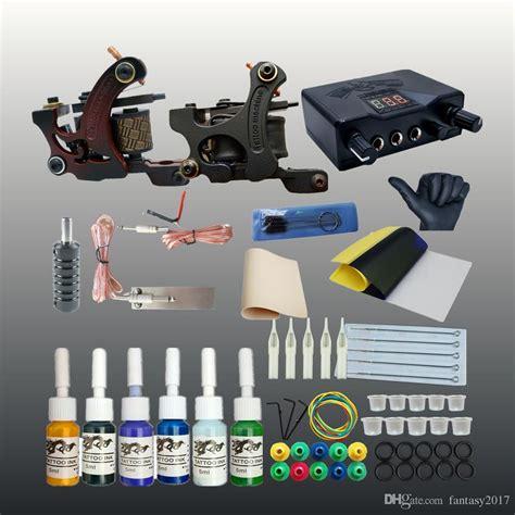 tattoo gun kits for sale professional kit 2 tatto machines ink power