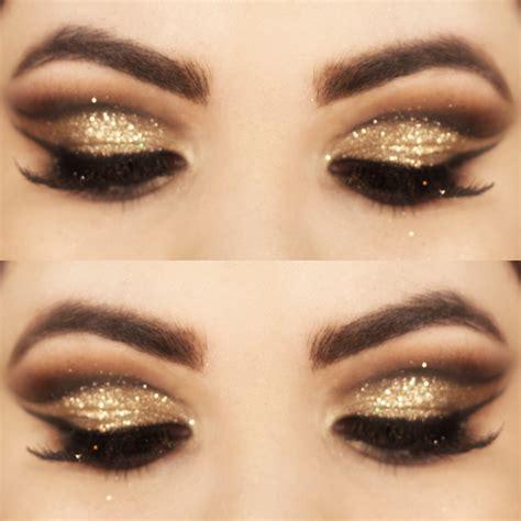 Makes Makeup by Tutorial Maquiagem Dourada Batom Vermelho Assuntos