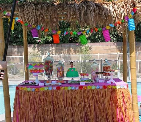 luau backyard party ideas southern blue celebrations tropical luau party ideas