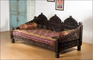 Tm Design Daybed Pris Monsooncraft Indian Carved Maharaja Sofa Set Design