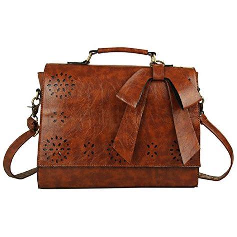 Guess Original Laptop Bag ecosusi vintage faux leather messenger satchel bags