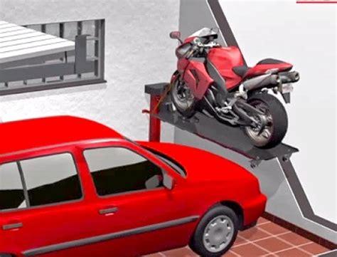 Auto Und Motorrad Garage by Moto Lift Die Motorrad Parkl 246 Sung F 252 R Die Garage