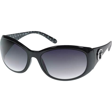 guess oval frame sunglasses with guess g logo s