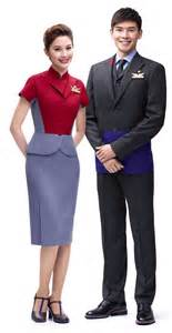Mango Airlines Cabin Crew by China Airlines Introduces Futuristic New Uniforms