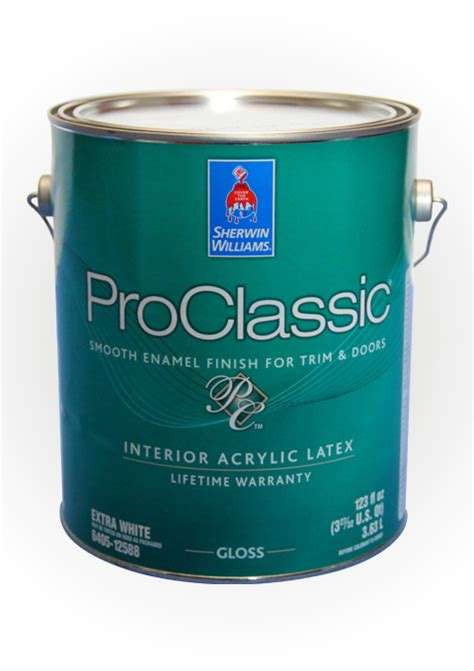 acrylic and alkyd paint proclassic waterborne interior acrylic high gloss enamel
