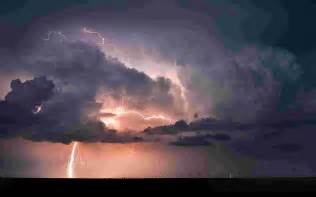 Lightning Cloud A Thundercloud With A Lightning Wallpaper