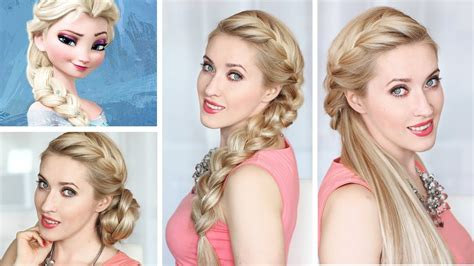 Frozen Hairstyle For Free by Frozen Elsa Braid Hairstyle New Year S Hair Tutorial