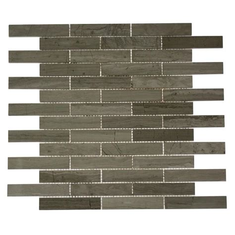 splashback tile big brick wooden beige 12 in x 12 in x 8