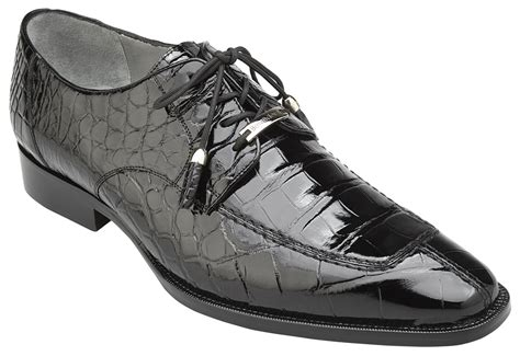 Lorenzo Black belvedere lorenzo black genuine all alligator shoes