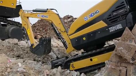 Excavator Xcmg 1 8 Kubik xcmg launches our fully remote controlled
