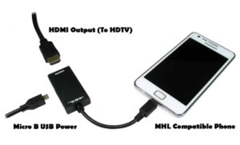 android phone to tv how to connect a smartphone or tablet to a screen via mhl hexamob