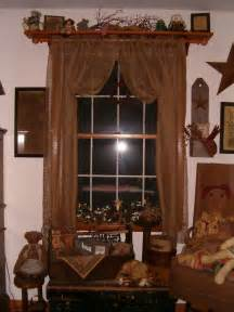 Primitive Window Curtains Primitive Window Treatments And Quilts Window Treatments Kims Kountry Kreations Primitive