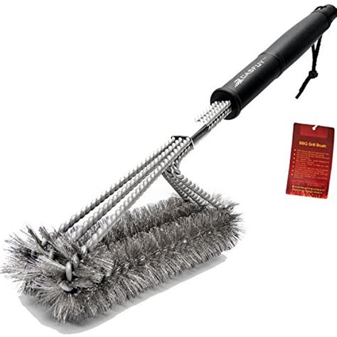 18 Inch Bbq Grill Brush Intl casfuy bbq grill brush 18 inches 3 in 1 stainless steel