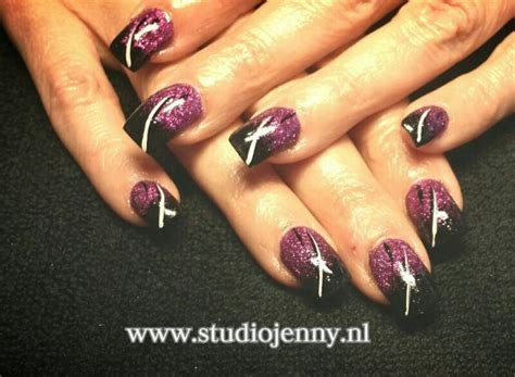 Zwarte Acryl Nagels by Top 25 Ideas About Eigen Creatie Acrylnagels On