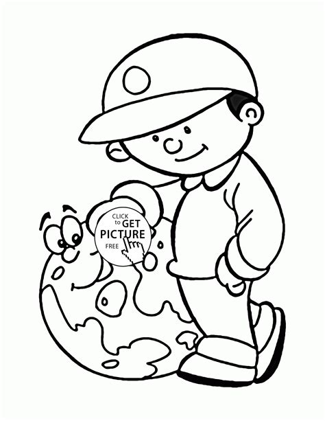 Love And Save The Earth Earth Day Coloring Page For Kids Save The Earth Coloring Pages