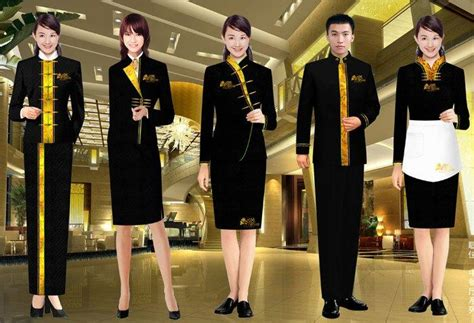 layout of front office staff seragam hotel yang profesional
