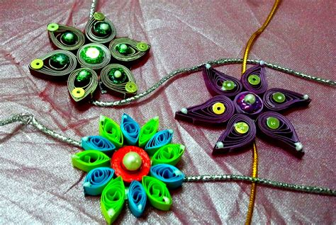 How To Make A Handmade Rakhi - images of made rakhi designs for competition