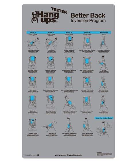 inversion table sciatica exercises best 20 inversion table ideas on sciatica