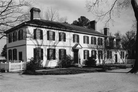 House Virginia by Peyton Randolph House Politics And Poltergeists