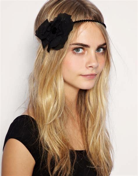 hairstyles in headband boho headband styles 2011