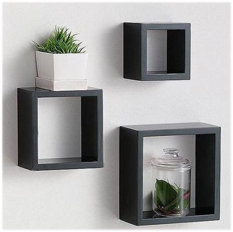Wall Shelf Cubes by Wooden Cube Wall Shelves Designs Cube Shelves Designs