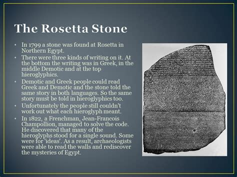 rosetta stone how many languages ancient egypt ppt video online download