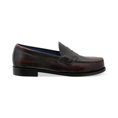 bass loafers lyst g h bass co rencrist weejun flat