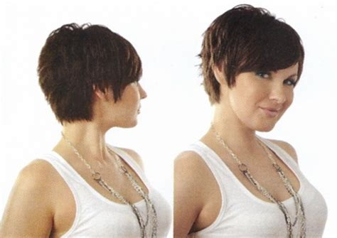 pictures of very short hair front and back iew short haircuts front and back view