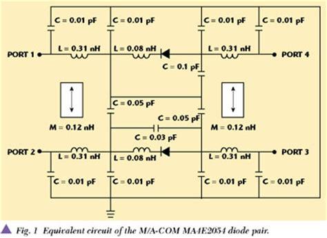 schottky diode rf detector circuit schottky diode rf detector circuit 28 images recovery time of the schottky pin limiter 2012