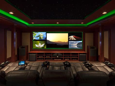 Decorative Media Room Ideas in Contemporary Design Amaza Design