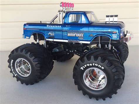 videos of rc monster trucks bigfoot the original monster truck rc s pinterest