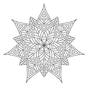coloring designs free printable geometric coloring pages for