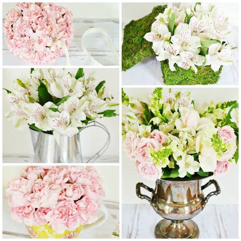 s day flower arrangements 5 diy s day flower arrangements hgtv