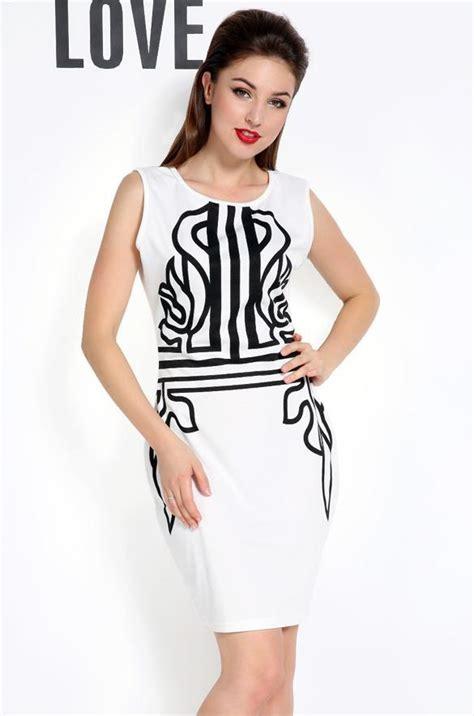 Dress Cotton Dress Import G217345 print bodycon womens pencil dress sleeveless summer fashion cotton w3le ebay