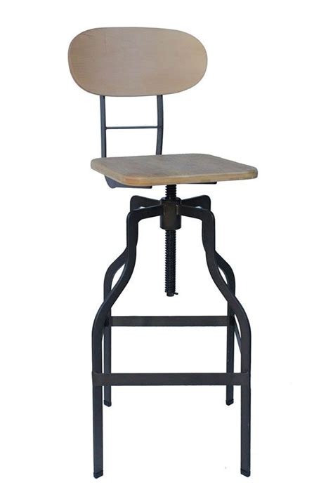 Breakfast Bar Stool Height by Rustic Industrial Kitchen Bar Stools Fixed Height