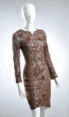 pin pnar ems elbise modelleri on pinterest folhas e flores no vestido em croche croch 234 de genio