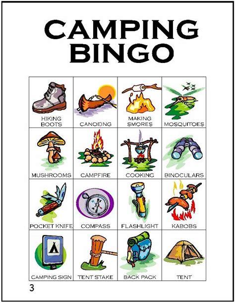 Preschool Bingo Card Template by 17 Best Ideas About Cing Bingo On Bingo