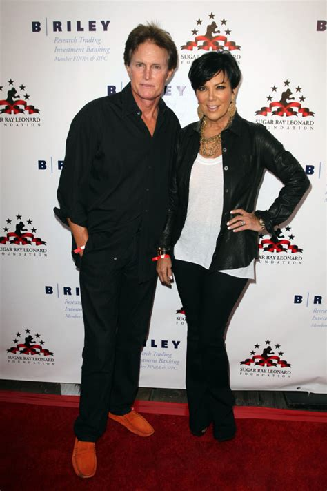 how did kris kardashian meet bruce jenner kylie jenner holds hands with kris shows separation