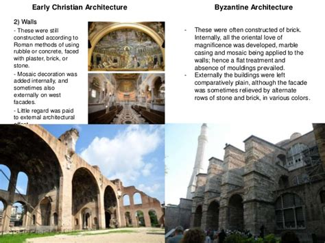 interior design styles comparison comparison between early christian and byzantine architecture