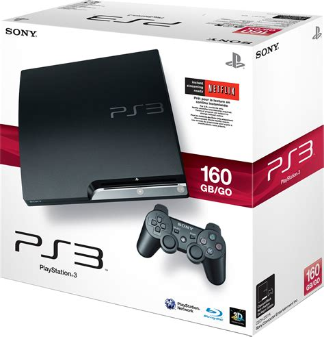 Sony Ps3 Slim 250gb Cfw With Box ps3 160gb slim boxed sony playstation 3 clickbd