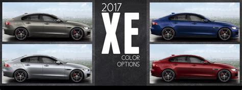 paint colors for jaguar 2017 jaguar xe exterior color options